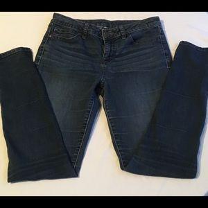 Jennifer Lopez Skinny Blue Jeans Size 8